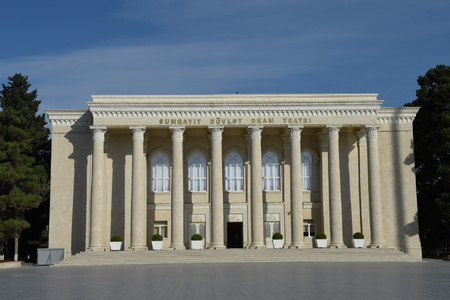 Prezident Sumqayıt Dövlət Dram Teatrının 50 illiyi haqqında sərəncam imzalayıb