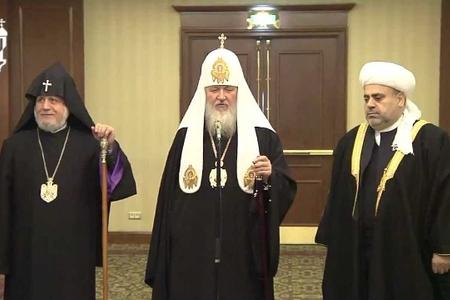 Dini liderlər bu gün Moskvada görüşür