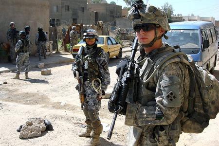 Terrorçular ABŞ hərbçilərinə hücum etdilər