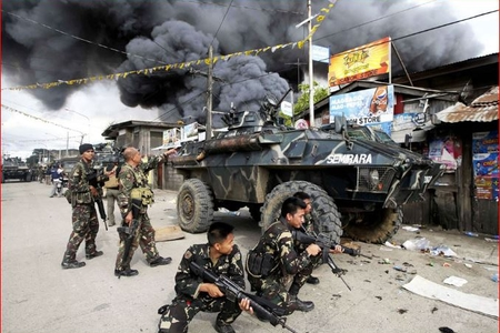 Filippində terror aktı törədilib, ölənlər var
