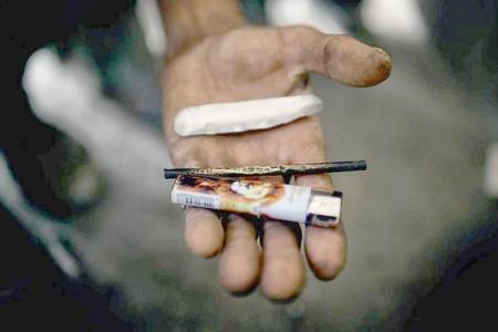Hacıqabulda  külli miqdarda narkotik dövriyyədən çıxarılıb