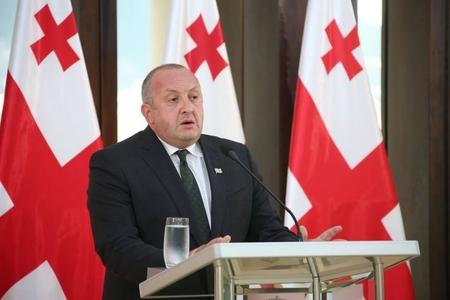 Gürcüstan prezidenti Putinə cavab verib