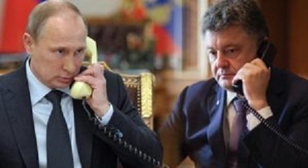 Putin Poroşenkoya zəng elədi