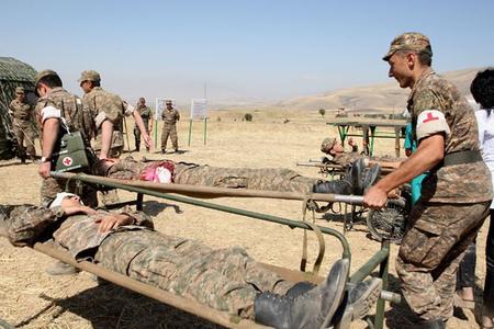 Partlayış nəticəsində Ermənistan ordusunun üç əsgəri yaralandı