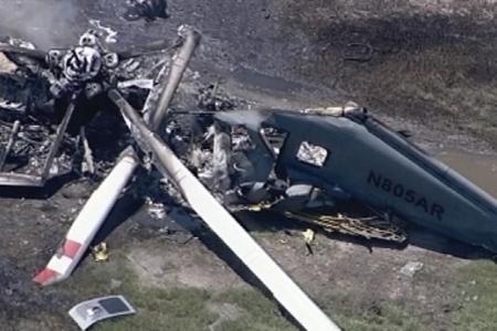 İndoneziyada helikopter qəzaya uğrayıb, 8 nəfər həlak olub