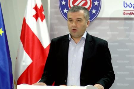 Gürcüstanın müxalif partiyası prezidentliyə namizəd irəli sürüb
