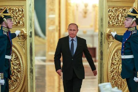 Vladimir Putinin andiçmə mərasimi başlayıb