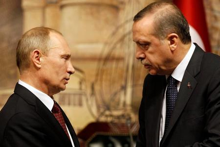 Soçidə Putin və Ərdoğan arasıda görüş dörd saatdan çox davam edib