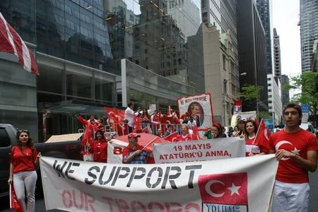 Nyu-Yorkda türk xalqlarının yürüşü təşkil edilib