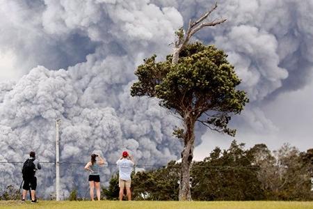 Havay adasında vulkan püskürüb: xəsarət alan var