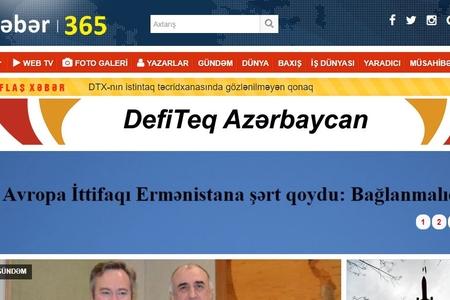 Xeber365.com saytı fəaliyyətini dayandırır