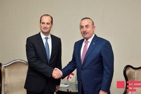 Bakıda Gürcüstan və Türkiyə xarici işlər nazirlərinin görüşü keçirilir