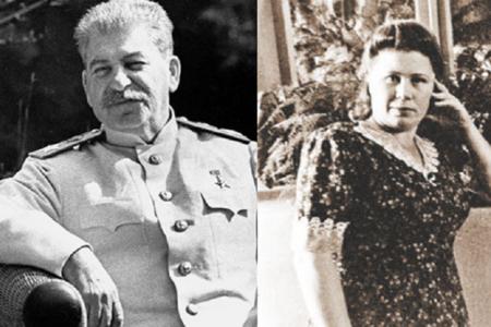 """Stalinin üçüncü """"həyat yoldaşı""""-"""
