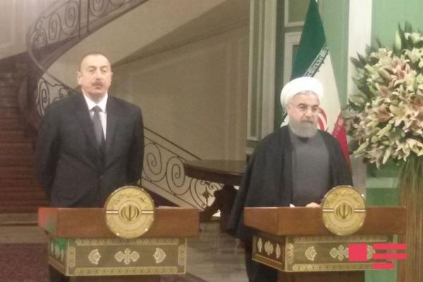 """İran prezidenti: """"Ümid edirik ki, Qarabağ münaqişəsi öz həllini tapacaq"""""""