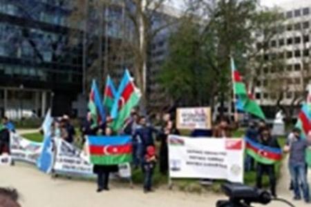 Azərbaycanlılar Avropa Parlamenti qarşısında aksiya keçirəcək