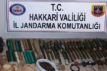Türkiyədə PKK-nın böyük cəbbəxanası ələ keçirilib