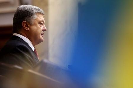 """Poroşenko: """"ABŞ Ukraynaya 500 milyon dollar dəyərində hərbi yardım ayırıb"""""""