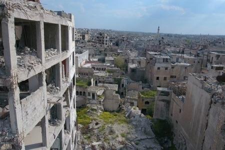 Suriyada inzibati bina atəşə tutulub, 9 nəfər yaralanıb