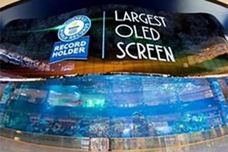 Dünyada ən böyük OLED displey yaradılıb