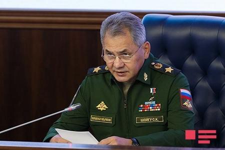 Şoyqu: Rusiya Suriyada 210 silah növünü sınaqdan çıxarıb