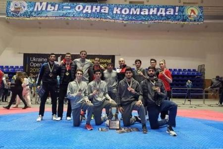 Azərbaycan taekvondoçuları Ukraynada 9 medal qazanıblar