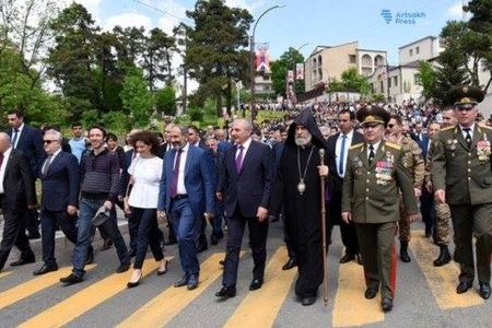 Paşinyan Qarabağa gəlib - FOTO