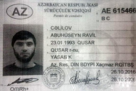 Ankarada AKP-nin qurultayında qətliam hazırlayan İŞİD-çi Qusar sakinidir