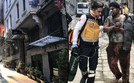İstanbulda bina yanıb, 4 nəfər ölüb