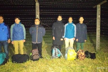 6 nəfər Nepal vətəndaşı tərəfindən dövlət sərhədinin pozulmasının qarşısı alınıb