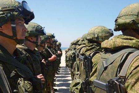 Rusiya ordusu Ermənistanda təlimlər keçirib
