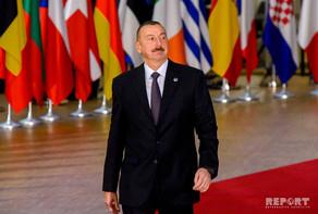 """Prezident İlham Əliyev: """"Əminəm ki, qarşıdakı illərdə Azərbaycanla Avropa İ ..."""