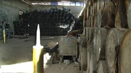 Suriyada terrorçuların NATO silahları ilə dolu anbarları tapıldı