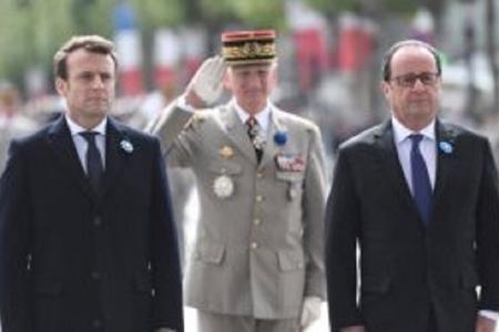 Fransanın yeni prezidenti and içir