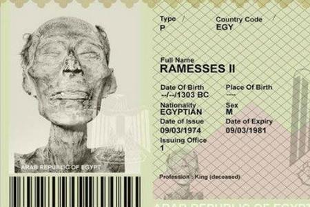 Firon II Ramzesə ölümündən 3 min il sonra xarici pasport verdilər — FOTOFAKT