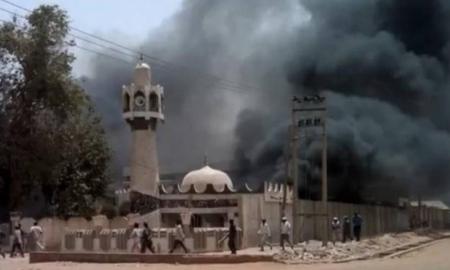 Nigeriyada məsciddə dəhşətli partlayış: 20 ölü...