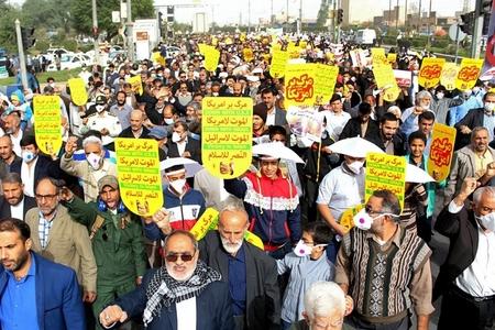 İranın böyük şəhərlərində etiraz yürüşləri keçirilib