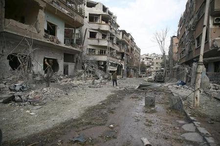 Şərqi Qutada 8 nəfər terrorçuların əsirliyindən azad edilib