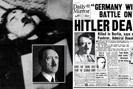 Arxiv açıldı: Hitler intihar etməyib, qaçıb - Foto