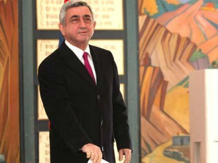Sərkisyan ile ilgili görsel sonucu