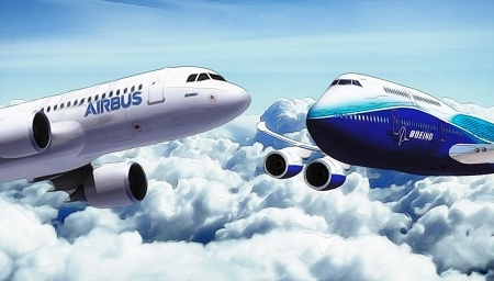 """""""Airbus"""" təyyarə sifarişlərinin sayına görə """"Boeing""""i üstələyib"""