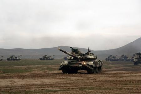 Azərbaycan 5 günlük hərbi təlimlərə başladı