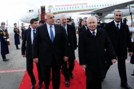 Bolqarıstanın baş naziri Bakıya gəlib