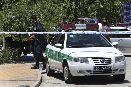 İranda terror aktı törətməkdə şübhəli bilinən 4 nəfər saxlanılıb