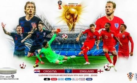 DÇ 2018:Xorvatiya millisi tarixdə ilk dəfə finala yüksəldi