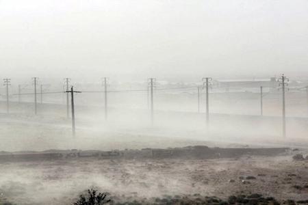 İranda gözlənilən fəlakət: duz fırtınası başladı