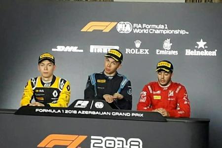 Formula 2-nin ilk yarışının qalibi: