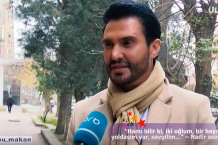 """""""Sevgilim yoxdur, amma 25 ildir birlikdə yaşayırıq"""" – Nadir Qafarzadə – VİDEO"""