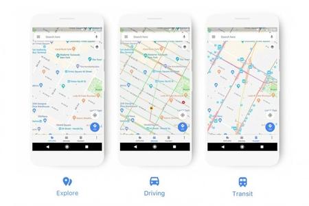 """Yenilənmiş """"Google Maps"""" xəritəsindən istifadə asanlaşacaq"""