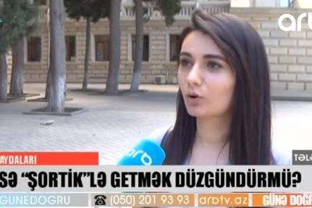 Azərbaycanda universitetə şortla getmək olarmı? - VİDEO
