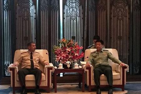 Zakir Həsənov çinli generalla danışıqlarda – FOTO
